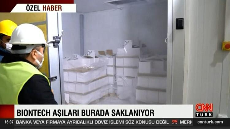 607ae2af4e3fe10840581761 - Türkiye'deki Pfizer/Biontech aşıları burada saklanıyor! Dikkat çeken '3 dakika' detayı!