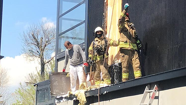 6081711c4e3fe00f20b97123 - Son dakika: Etiler'de ünlü et restoranında yangın