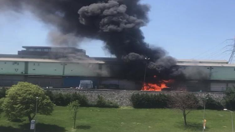 Son dakika haberi: Bayrampaşa'daki halde yangın paniği...