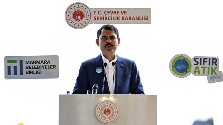 Son dakika: Müsilaj temizleme seferberliği 'Marmara Hepimizin' sloganıyla başladı! Bakan Kurum'dan ilk açıklama