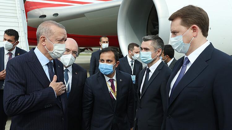 Son dakika... Cumhurbaşkanı Erdoğan ile Rusya Devlet Başkanı Putin'in görüşmesi başladı