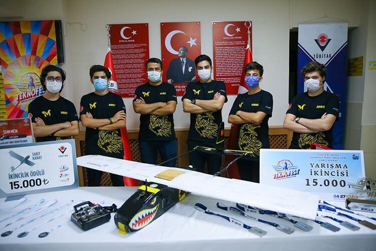 Liseliler Türkiye'nin İHA gücünü ileriye taşımak istiyor