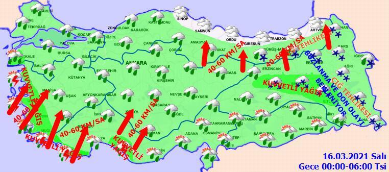 Meteoroloji'den İstanbul ve çok sayıda kente kritik uyarı