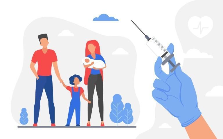 Aynı evin içindeki aşı kavgaları: 'Ya aşı olacak ya da boşanacağız'