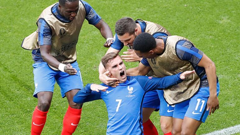 Fransa 2-1 İrlanda / MAÇ ÖZETİ