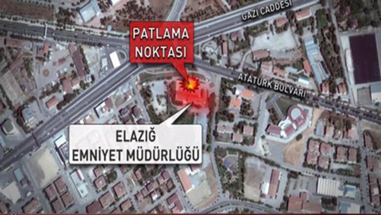 Son dakika haberi: Elazığ'da şiddetli patlama