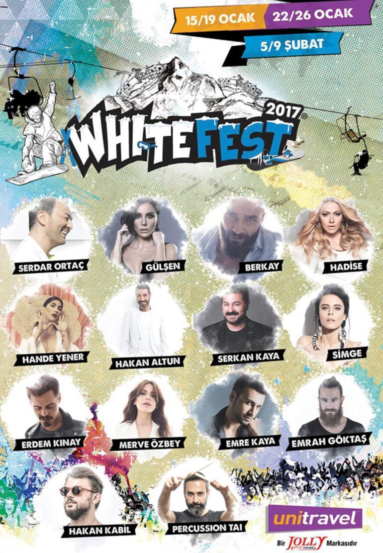 Festival ünlüleri