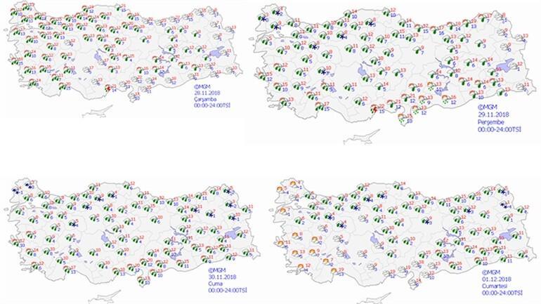 Son dakika: Meteoroloji'den İstanbul için kuvvetli yağış uyarısı