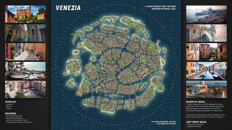 PUBG'nin yeni haritası sizi Venedik'e götürecek!