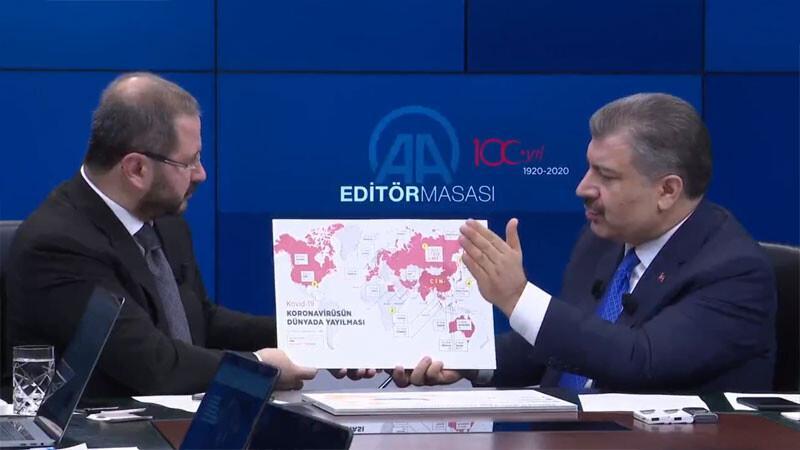 Son dakika haberler...Sağlık Bakanı Fahrettin Koca'dan corona virüs açıklaması: En az 6-9 ay!