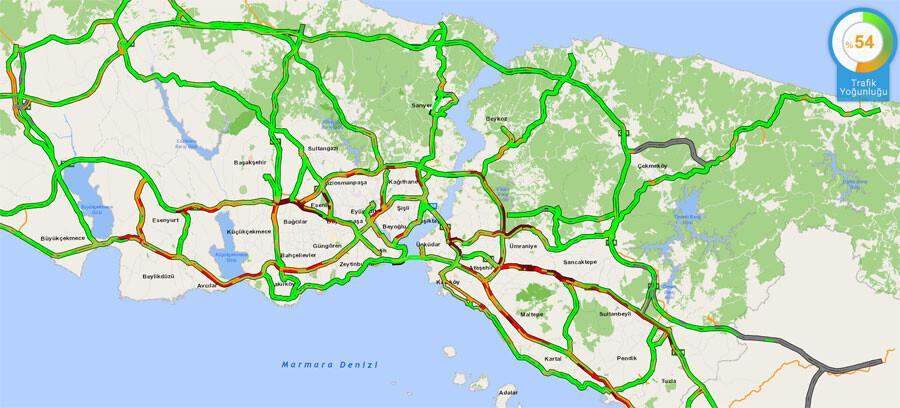 608a4d864e3fe00878e1bc80 - Son dakika... İstanbul'dan 'tam kapanma' göçü devam ediyor! Trafik yoğunluğu yüzde 51'i aştı..